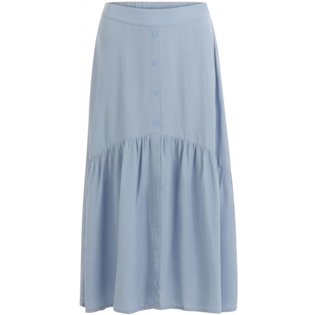 Coster Copenhagen nederdel i lyseblå