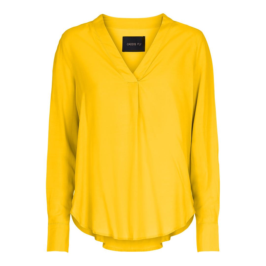 de3321100 Caddis Fly gul bluse