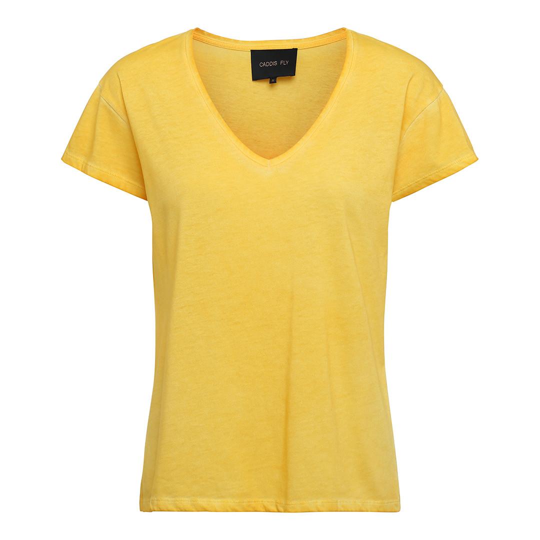 8cf221965 Caddis Fly t-shirt i gul
