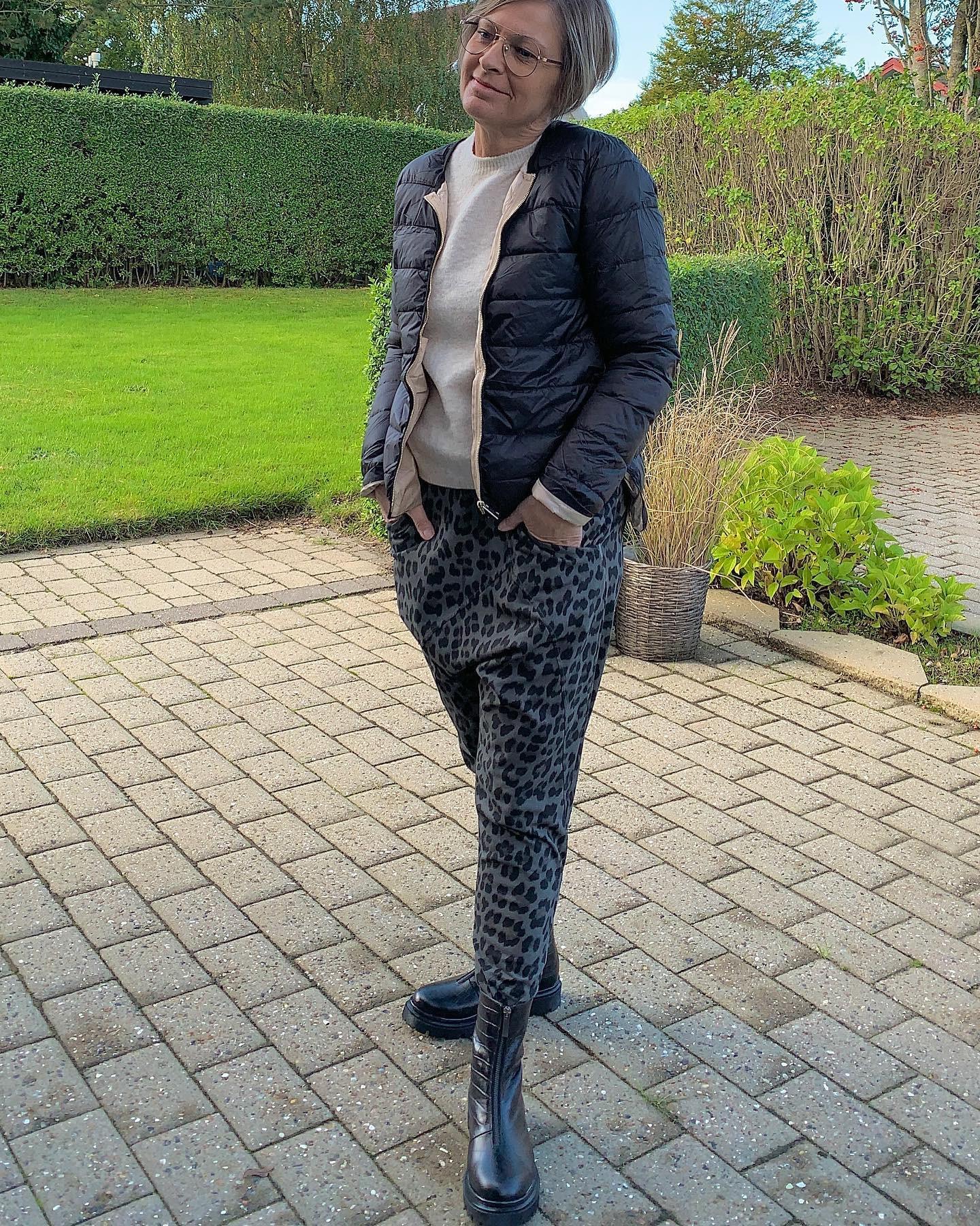 COSTER CPH quiltet jakke i sort