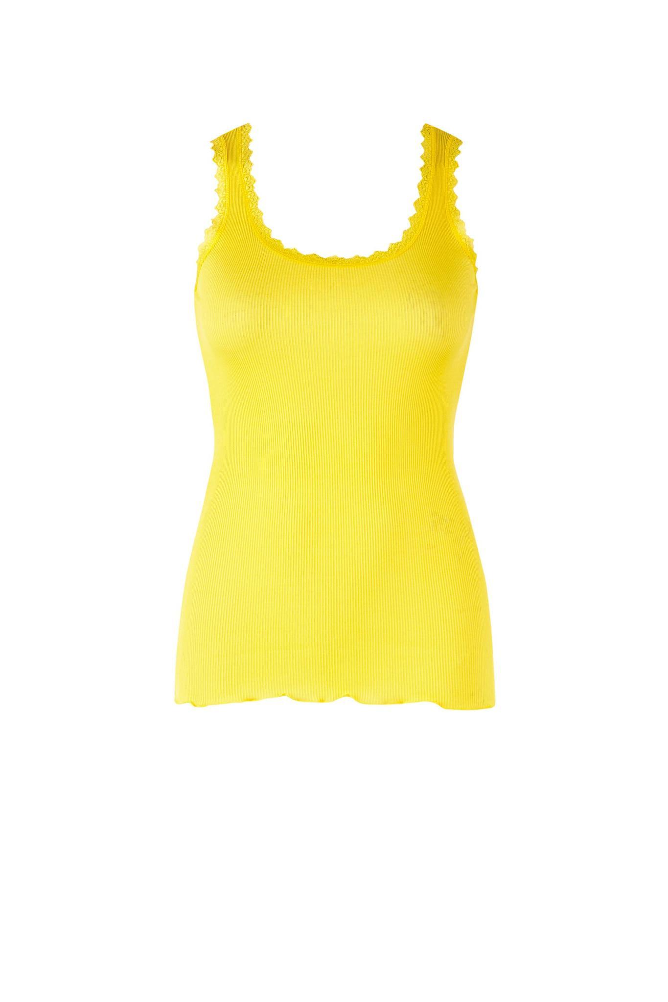 1b9e9b34d4f Saint Tropez gul top - T-shirt/toppe - Tøj