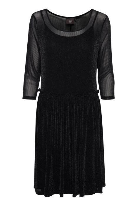 sort enkel kjole