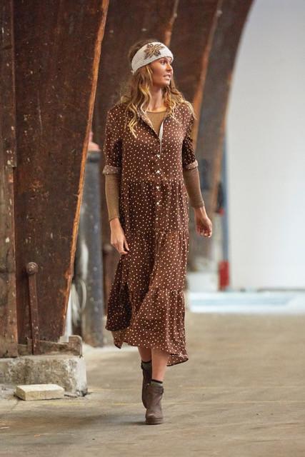 Costa Mani kjole med prikker