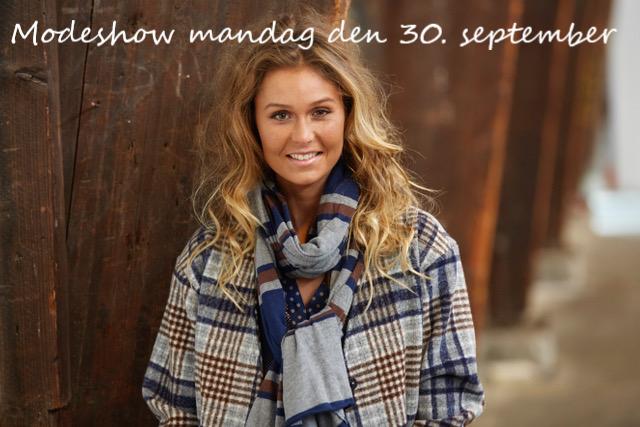 Modeshow på Bryghuset mandag den 30. september 2019 kl. 18.30