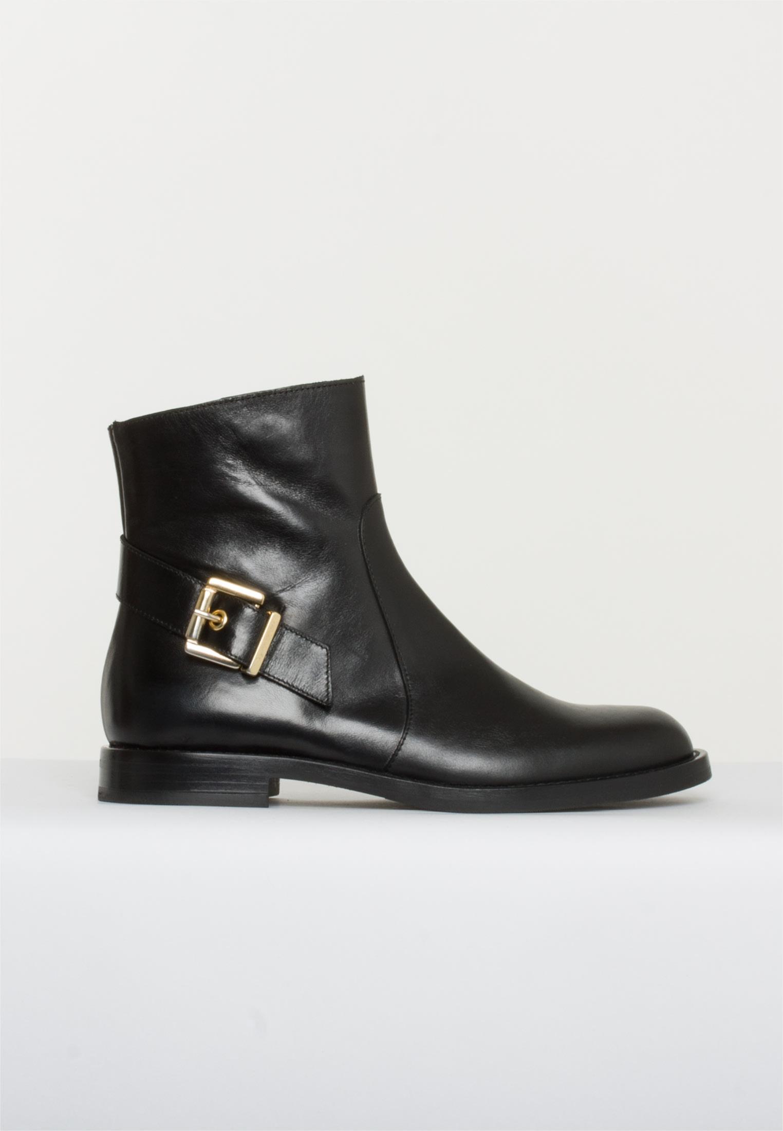 Bukela sort blank støvle.