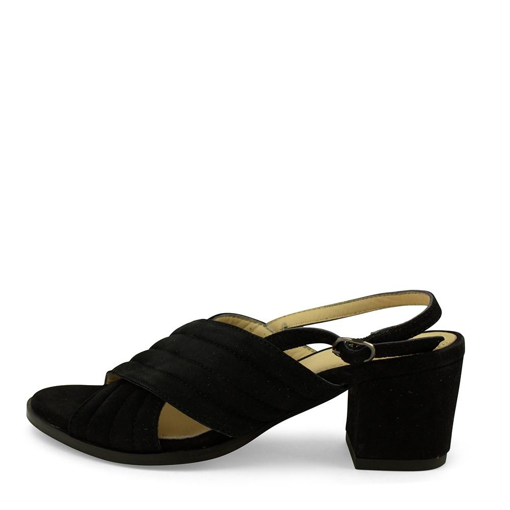 b4d2673797c Dixie sort sandal med kryds rem. - Sandaler - Sko