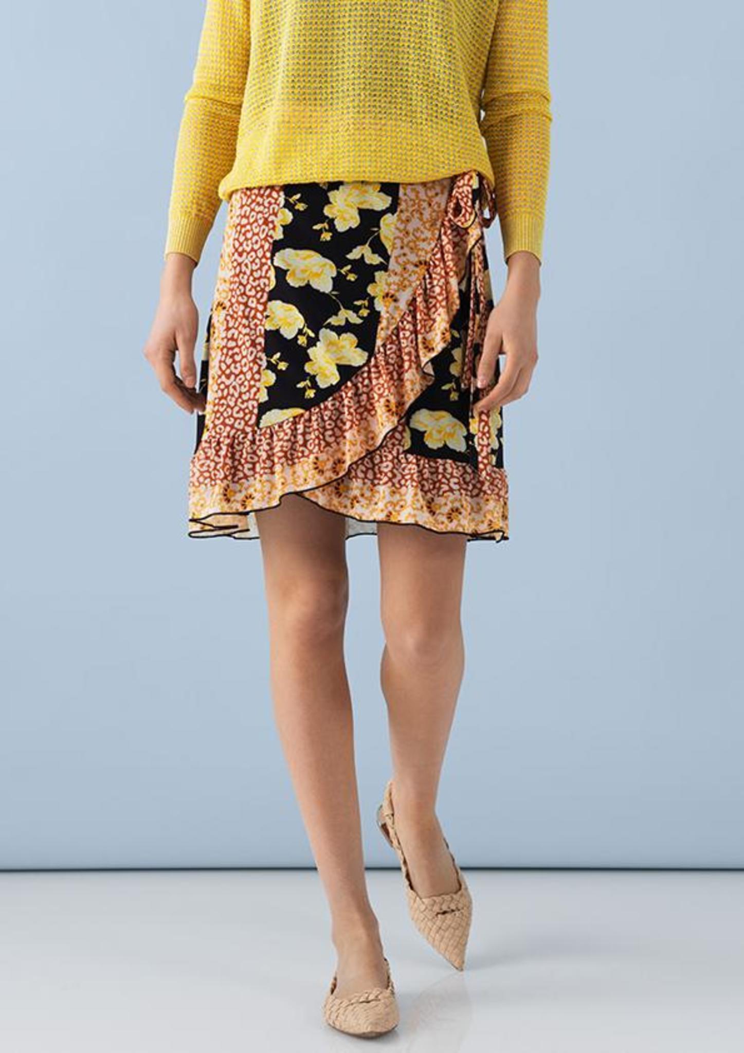 7dbea41be9d Saint Tropez slå om nederdel i forskellige print - Nederdele - Tøj