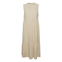 Saint Tropez kjole i cremefarve