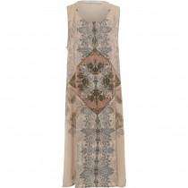 Costa Mani kjole med et smukt print foran