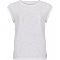 Coster Copenhagen t-shirt i hvid med skrift foran
