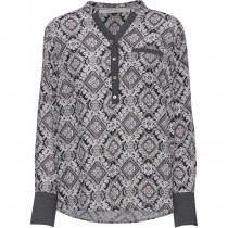 Costamani bluse i grå farver
