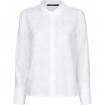 Caddis Fly hvid skjorte i broderie anglaise