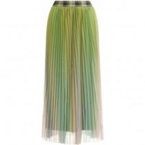 Coster Copenhagen multifarvede plissé nederdel