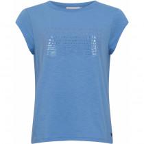 Coster Copenhagen t-shirt i varm blå