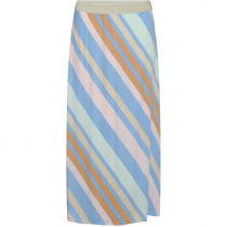 Costamani stribede nederdel i blå farver