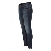 Denim Hunter mørkeblå jeans med 7/8 benlængde