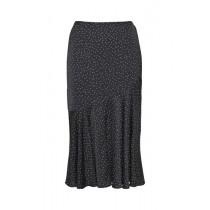 Saint Tropez sort nederdel med prikker