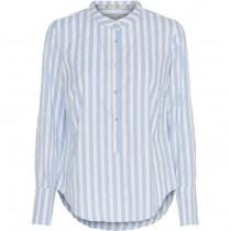 Costa mani skjorte med lyseblå striber