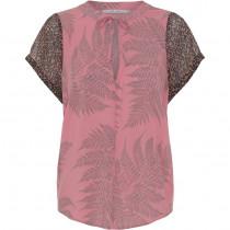 Costa Mani bluse i lyserødt print