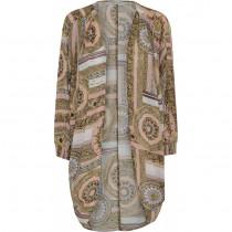 Costa Mani Kimono i grafisk print