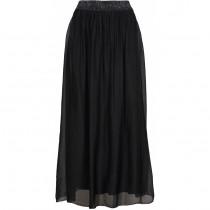 Caddis Fly sort silke nederdel