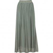 Caddis Fly sart grøn silke nederdel
