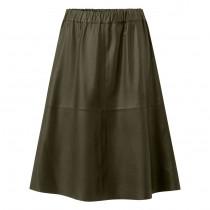 Depeche grøn nederdel