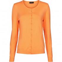 Caddis Fly cardigan i farven mandarin