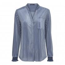 Bestseller Caddis Fly bluse i støvet blå