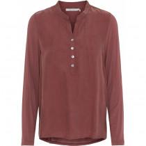 Costa Mani bluse i en smuk rød farve