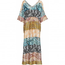 Costa Mani kjole i smukke farver.