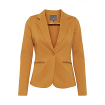 ICHI blazer i gul/brunlig farve