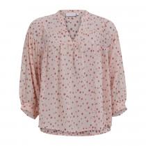 COSTER bluse i rosa med prikker