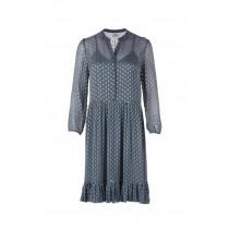 Saint Tropez kjole i grå med guld pletter