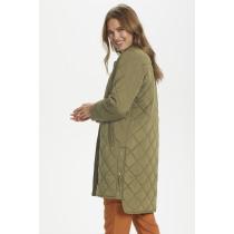 Saint Tropez army jakke i quiltet kvalitet