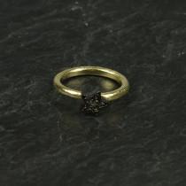 Pure By Nat Ring m. oxideret stjerne