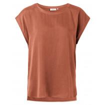 YAYA smuk rust farve bluse