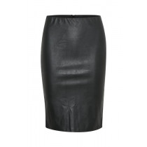 Saint Tropez sort pu nederdel