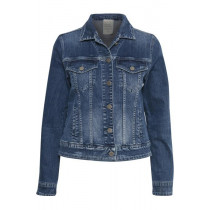 Denim Hunter denim jakke med krave