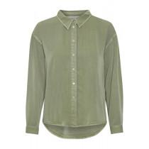 Denim Hunter støvet grøn skjorte