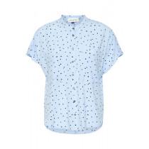 Denim Hunter lyseblå skjorte med prikker