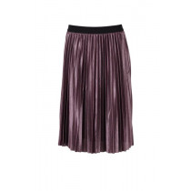 Saint Tropez plisse nederdel i en skøn dyb rød farve