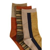 ICHI sokkeboks med 3 par.