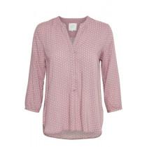 Part two bluse i rosa med prikker