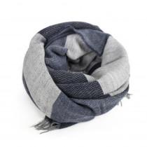 Redesign By Dixie tørklæde i blå farver