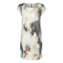 Denim Hunter lys kjole med grå og brune farver