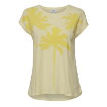 Saint Tropez sart gul t-shirt