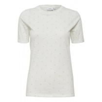 Saint Tropez lys t-shirt med små ananas