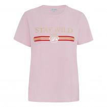 Continue lys rosa T-shirt