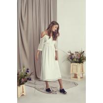 ICHI hvid kjole